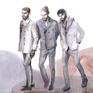 Alina grinpauka fashion illustration men streetstyle