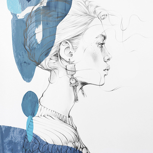 Alina grinpauka fashion illustration ysl