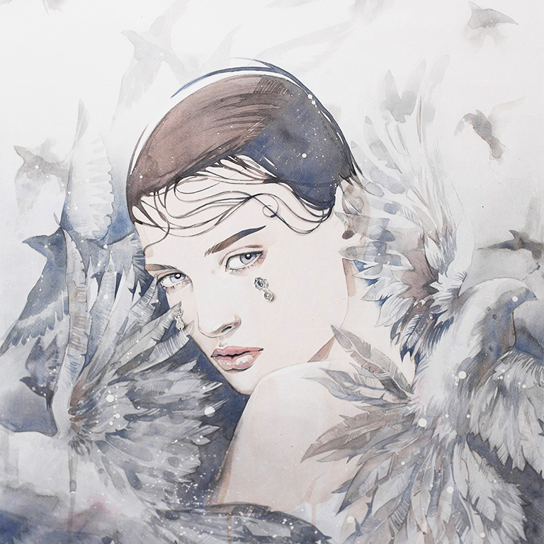Alina grinpauka fashion illustration givenchy preview