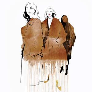 Jil sander fashion illustration alina grinpauka small