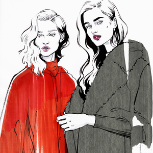 Maxmara fashion illustration alina grinpauka small